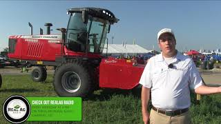 Hesston powers up new generation of windrowers