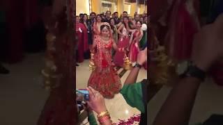 Indian Cute Bride   Bride marriage dance    funny video   indian wedding