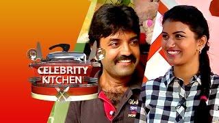 Actress Sri Devi & Actor Lakshmiraj in Celebrity Kitchen (26/04/2015)