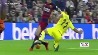 اهداف مباراة برشلونة وفياريال 3 0 كاملة