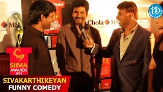 Sivakarthikeyan Funny Comedy at SIIMA 2014 Awards, Malaysia