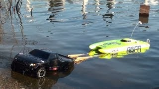 Rc Traxxas Launch speed boat Icons 2014.
