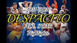 NBA All Star Mix ᴴᴰ - Despacito - Luis Fonsi - ft. Daddy Yankee