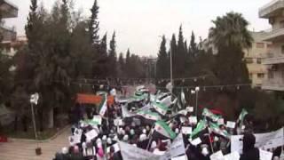 حمص الإنشاءات مظاهرة طلابية سكابا21 12