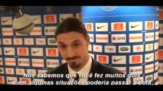 Zlatan Ibrahimovic vs Journalists
