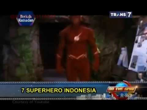 On The Spot - 7 Superhero Indonesia