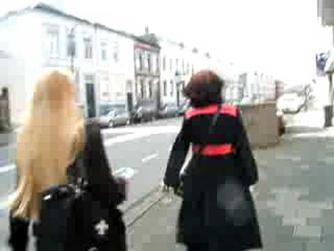 Dutch girls in Holland