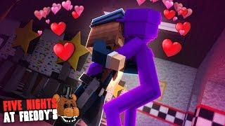 Minecraft: FIVE NIGHTS AT FREDDY'S #117 -PURPLE GUY BEIJOU A VIGIA!!