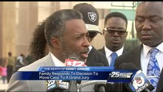 Family of Corey Jones responds to decision to move case to grand jury
