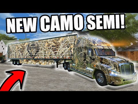 Xxx Mp4 FARMING SIMULATOR 2017 GOING HUNTING CAMPING WITH THE NEW CAMO SEMI MULTIPLAYER 3gp Sex