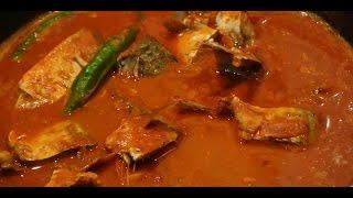 Homemade Goan Style Fish (Bangda / Mackerel) Curry Easy Recipe