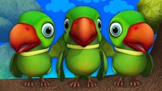 Main Tota Hare Rang Ka | Hindi Rhymes | मैं तोता मैं तोता | Hindi Rhymes For Kids | Baby Songs Hindi
