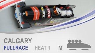 Calgary   4-Man Bobsleigh Heat 1 World Cup Tour 2014/2015   FIBT Official