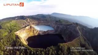 The Beautfully of 3 Lakes 3 Colours in Indonesia