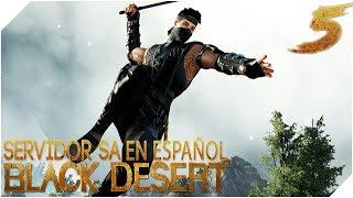 BLACK DESERT EN ESPAÑOL Servidor SA | Nueva clase NINJA Lets GO!