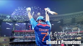 M.S. Dhoni : The Untold Story Full Movie 2016 - Sushant Singh Rajput  - Events and Promotions
