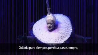 Mozart -flauta mágica CANTADA AL ESPAÑOL- la reina de la noche Aria- THE QUEEN OF THE NIGHT ARIA