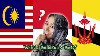 Malaysia VS Indonesia VS Brunei Language 马来西亚VS 印度尼西亚VS文莱