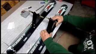 Ski bike build