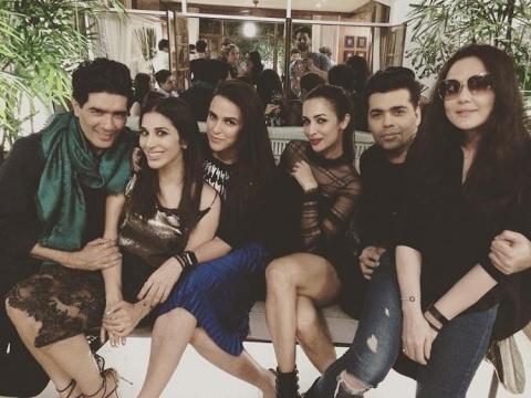 Inside Video: Preity, KJo,Malaika and Arjun attend Sophie's birthday bash