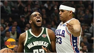 Pacers couldn't get a meeting with Khris Middleton, Tobias Harris -- is that a problem? | High Noon