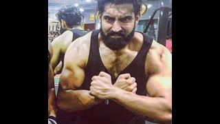 Parmish Verma At Gym Body Building    Live