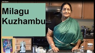 Milagu Kuzhambu in Tamil