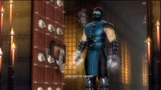 Mortal Kombat 9 - Scorpion v Sub-Zero Boss Fight