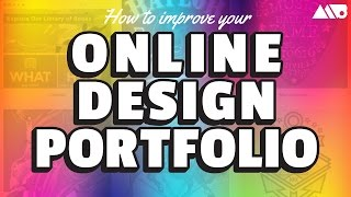 How to Improve Your Online Design Portfolio