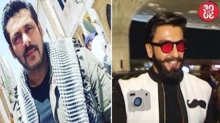 Salman's Look From 'Tiger Zinda Hai' Goes Viral | Ranveer To Play A Corrupt Cop In Rohit's Next