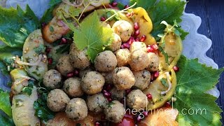 Potato Bulgur Veggie Balls Recipe - Armenian Cuisine - Heghineh Cooking Show