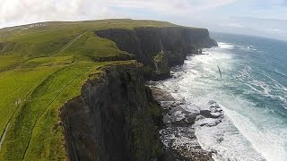The Emerald Isle: An Aerial Tour of Ireland's Historic Beauty