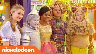 BTS w/ Lizzy Greene, Tia Mowry & More on the Wizard of Quads Set! | NRDD | Nick