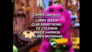 Barney End Credits (Barney Goes to School's version)