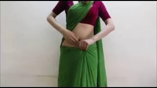 How To Wear Deepika Style Bollywood Saree-Hot Indian Sari Draping/Wrap Saari