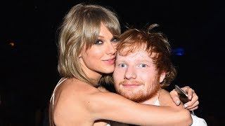 Ed Sheeran DENIES Fan Theory That Taylor Swift's Dress Is About Him
