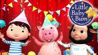 Party Time Song | Nursery Rhymes | Original Songs By LittleBabyBum!
