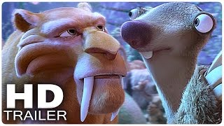ICE AGE 5 Alle Trailer + Clips German Deutsch | Kollision Vorraus | Filme 2016