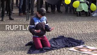 Germany: Berliners protest over Eastern Ghouta crisis