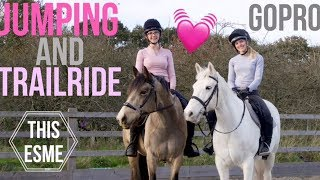 GoPro | Jumping and Trailride with Scarlette + Cookie | This Esme