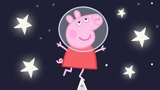 Peppa Pig English Episodes | Up in Space with Peppa Pig! | Cartoons for Children #160