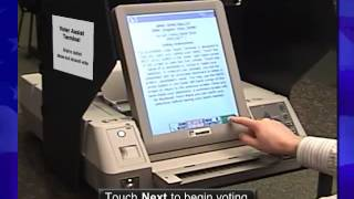 Voting Demonstration - AutoMARK®