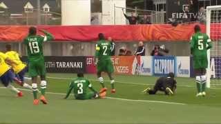 Nigeria v. Brazil - Match Highlights FIFA U-20 World Cup New Zealand 2015