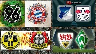 Fc Bayern vs Hannover + Leverkusen vs Dortmund + Hoffenheim vs Liepzig + Werder vs Stuttgart