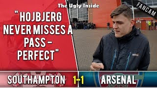 Hojbjerg never misses a pass - perfect | Southampton 1-1 Arsenal | The Ugly Inside