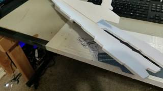 SDF-1 Macross Build Log and Glide Tests