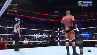 WWE ROMAN RIEGNS DESTROY TRIPLE H