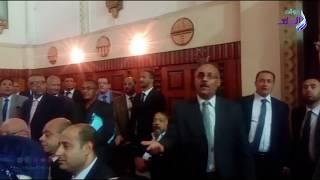 شغب وفوضى بعد تأييد حبس مرسي و23 آخرين في قضية إهانة القضاء