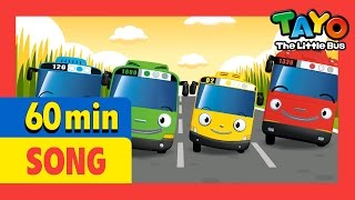 London Bridge is Falling Down and More (60mins) l Nursery Rhymes l Tayo the Little Bus