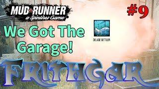 Let's Play Spintires Mudrunner #9: Deluge Garage!